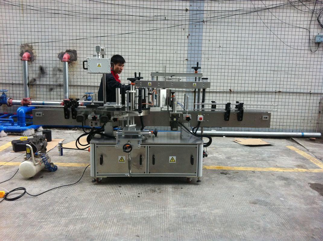 Máquina de rotulagem de garrafas redondas com adesivo automático completo para garrafas pet