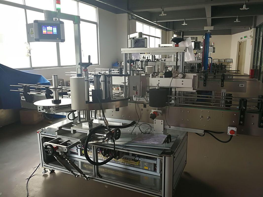 Máquina de rotulagem de garrafa plana, máquina aplicadora de etiqueta automática