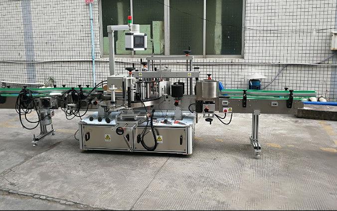 Máquina de rotulagem automática de adesivos de dois lados com servo motor