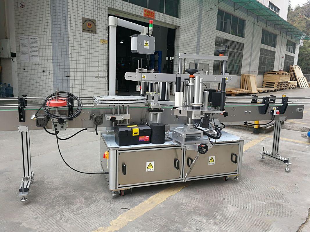 Máquina de rotulagem de adesivos para selagem de cantos de papelão totalmente automática 220V 50HZ 1200W